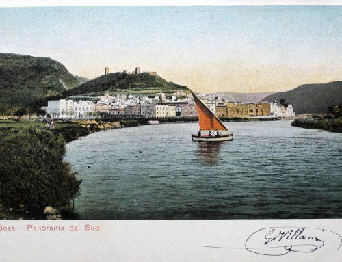 Bosa – Panorama dal sud