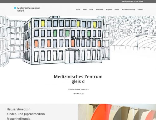 Medizinisches Zentrum gleis d Chur